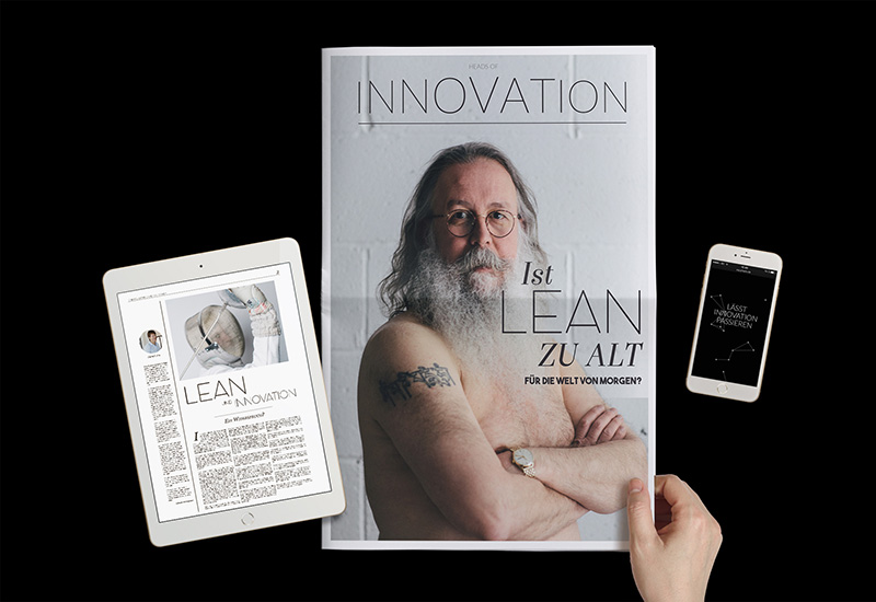 Heads of Innovation Management - Zeitung Phasix Innovation Cell Lean